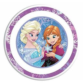 Disney Frozen Elsa the Snow Queen, Anna, Family for Ever Plate Dinnerware