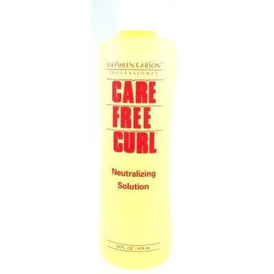 Care Free Curl Neutralizing Solution With Conditioner 16 oz. (3-Pack) with Free Nail File