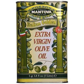 Mantova Italian Golden Extra Virgin Olive Oil 34 OZ