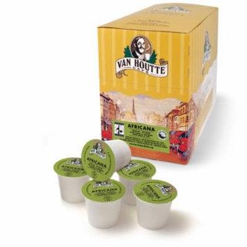 Eziba Van Houtte Africana Medium Fair Trade/ Organic Medium Roast Coffee K-Cups for Keurig Brewers (Pack o