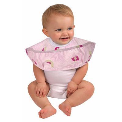 Leachco Spin Bib- 2 Way Baby Bib - Pink