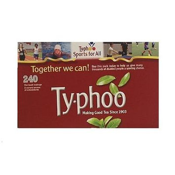 Typhoo Black Tea 6 pk x 240 Teabags