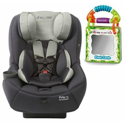Maxi-Cosi Pria 70 Convertible Car Seat with Easy Clean Fabric and Travel Flash Cards, Mineral Grey