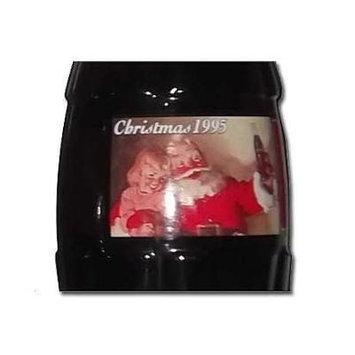 1995 Christmas Santa With Girl Commemorative Coca Cola Full Unopened Bottle 8 Oz
