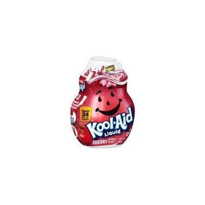 Kool-Aid Cherry Liquid Drink Mix, 1.62 fl oz(Case of 2)