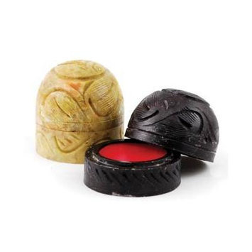Dragons Blood Solid Perfume in Soapstone