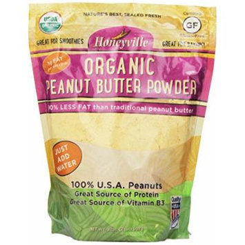 Honeyville Organic Peanut Butter Powder - 2 Pound Bag