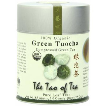 The Tao of Tea, Green Tuocha Green Tea, Loose Leaf, 3-Ounce Tins (Pack of 3)