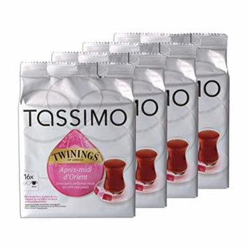 Tassimo Twinings Après-Midi d'Orient, Black Tea Flavor, Pack of 4, 4 x 16 T-Discs
