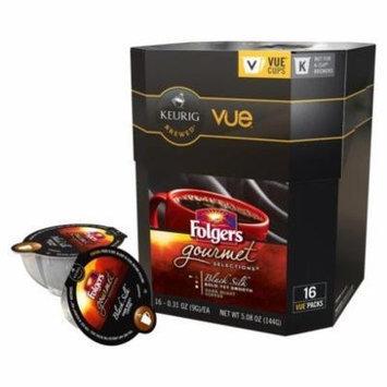 Folgers Gourmet Black Silk Coffee Keurig Vue Cups - 32 Count