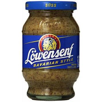 Lowensenf Mustard Jar, Bavarian Sweet, 10.20 Ounce