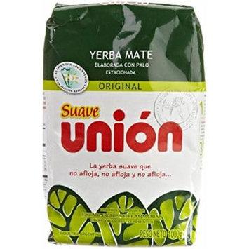 Union Yerba Mate Con Palo (Suave) 1kg / 2.2lb 3 Pack