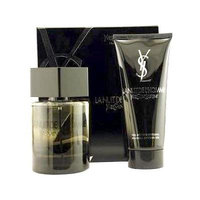 Yves Saint Laurent La Nuit De L'Homme Set:Eau De Toilette 3.4 oz+Shower Gel 3.4 oz(TRAVEL OFFER)