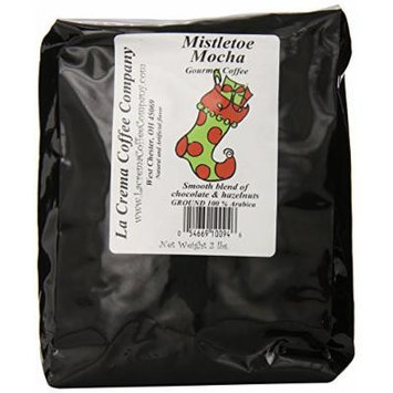 La Crema Coffee Stocking, Mistletoe Mocha, 2-Pound Package