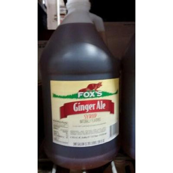 Fox's Ginger Ale Syrup 1 Gallon