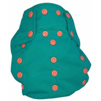 Smart Bottoms Smart 3.0 OS Organic All-in-one Cloth Diaper (spicy tuna)