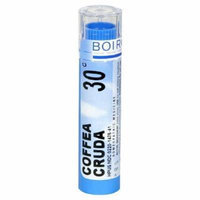 Boiron Homeopathic Medicine Coffea Cruda, 30C Pellets, 80-Count Tubes (Pack of 5)