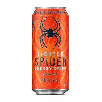 16 Pack - Spider Energy Drink - Sugar Free - 16oz.