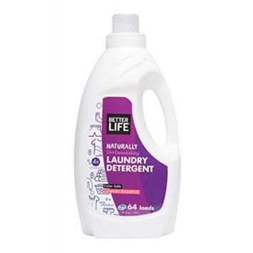 Better Life Laundry Detergent, Lavender Grapefruit, 64 Ounces