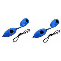 2 pack EVO FLEX Sunnies Flexible Tanning Bed Goggles Eye Protection UV Glasses (Blue)