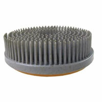 Tenax 4 Inch Antiquing Brush Snaillock Backed -- 60 grit