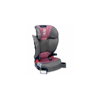 Britax Parkway SGL Belt Positioning Booster Seat - Cub Pink with matching Britax travel bag