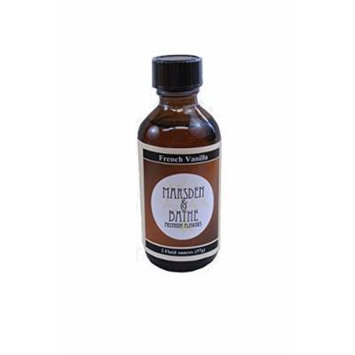 The Prepared Pantry Marsden and Bathe Flavored Extract, French Vanilla, 2 Fluid Ounce