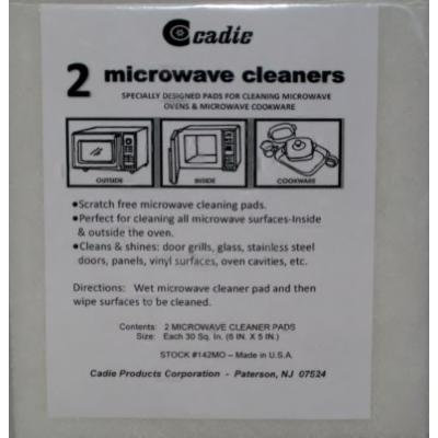 Microwave Cleaning Pad Set