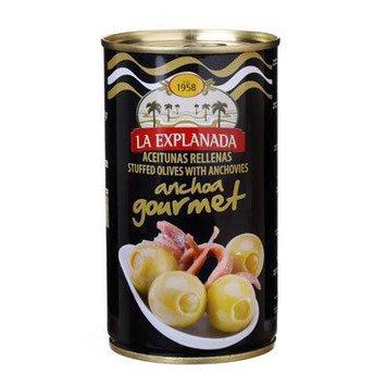 La Explanada Manzanilla Olives Stuffed with Anchovy