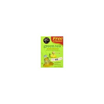 4c Green Tea, Antioxidant with Honey & Natural Lemon Flavor - (1) Box of 24 Packets