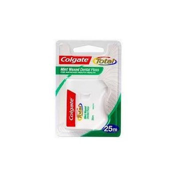 3 Pack Colgate Total Size 25m Mint Dental Floss