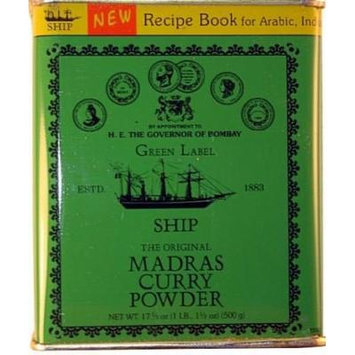 Ship Madras Curry Powder, 500-gram Packages (Free Shipping)