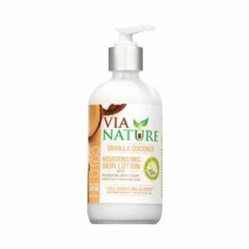 Via Nature Lotion, Moisture Vanilla Coconut, 8 Fluid Ounce