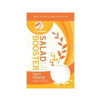 Living Intentions: Vegan Cheesy Salad Booster 3 Oz (12 Pack)