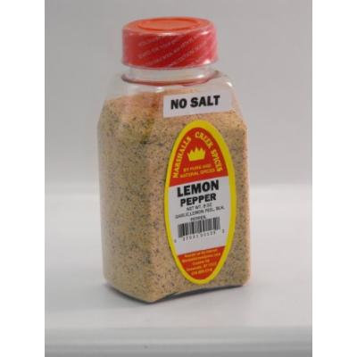 Marshalls Creek Spices Lemon Pepper Seasoning, No Salt, 8 Ounce