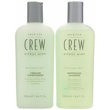American Crew Citrus Mint Cooling 8.45 oz. Shampoo + 8.45 oz. Conditioner (Combo Deal)