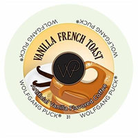 Wolfgang Puck Vanilla French Toast Flavored Coffee Single Serve Cups (72 count)