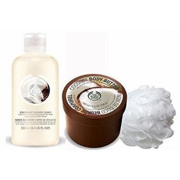 Coconut Body-Bath 3-piece Gift Set