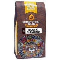Christopher Bean Coffee Black Diamond Ground Coffee, 12 Ounce