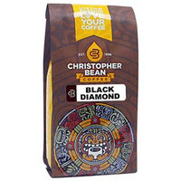 Christopher Bean Coffee Black Diamond Ground Coffee, 12 Ounce