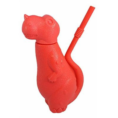 Evriholder Sipper Saurus Dinosaur Shaped Sipper Cup, Red, 2-Pack