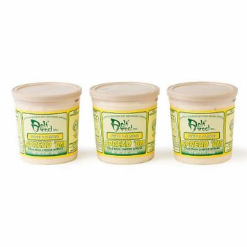 Wisconsin Cheese Spread - Swiss & Almond (3 Pack of 15oz.each Containers)