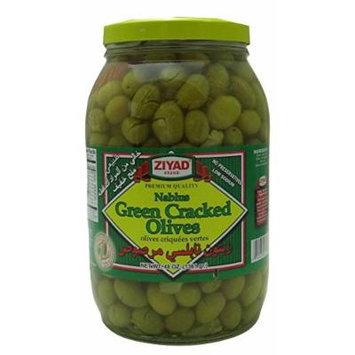 Nablus Green Cracked Olives