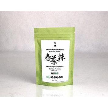 Ryu Mei Japanese Organic Matcha Green Tea Powder [Spring Kyoto] G4-60PR