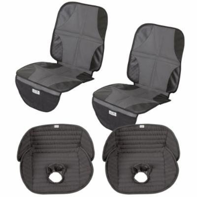Summer Infant DuoMat Seat Protector with Deluxe Piddle Pad Seat Liner, 2 Pack