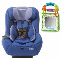 Maxi-Cosi Pria 70 Convertible Car Seat with Easy Clean Fabric and Travel Flash Cards, Blue Base
