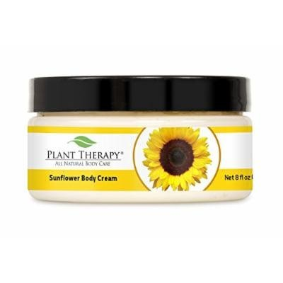 Plant Therapy Sunflower Aromatherapy Body Cream, 8-Ounce