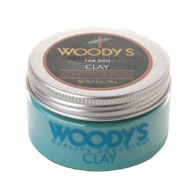 Woody's Clay Matte Finish with Firm Flexible Hold 3.4 fl oz (96 g)