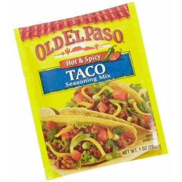 Old El Paso Taco Seasoning Mix - Hot & Spicy 1oz (6 Pack)