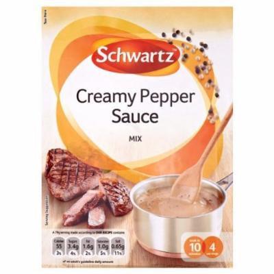 3 x Schwartz Creamy Pepper Sauce Mix (1oz / 25g each)